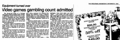 gambling 1981 raid