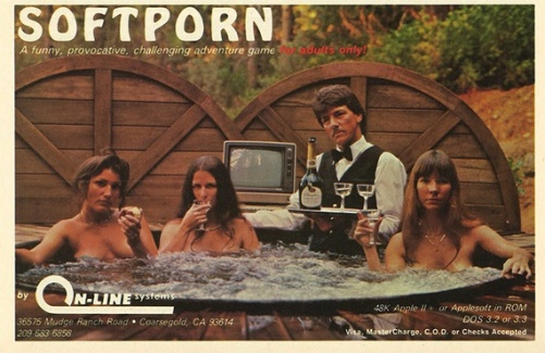 soft porn adventure game 1982