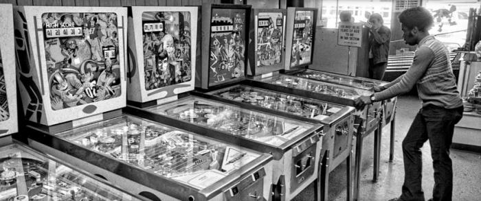 Going Back To Wonderland: 1972 Pinball Scene Revealed in New
