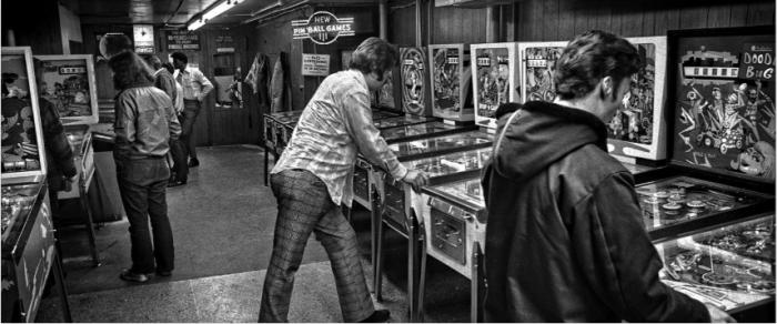 Going Back To Wonderland: 1972 Pinball Scene Revealed in New Photos
